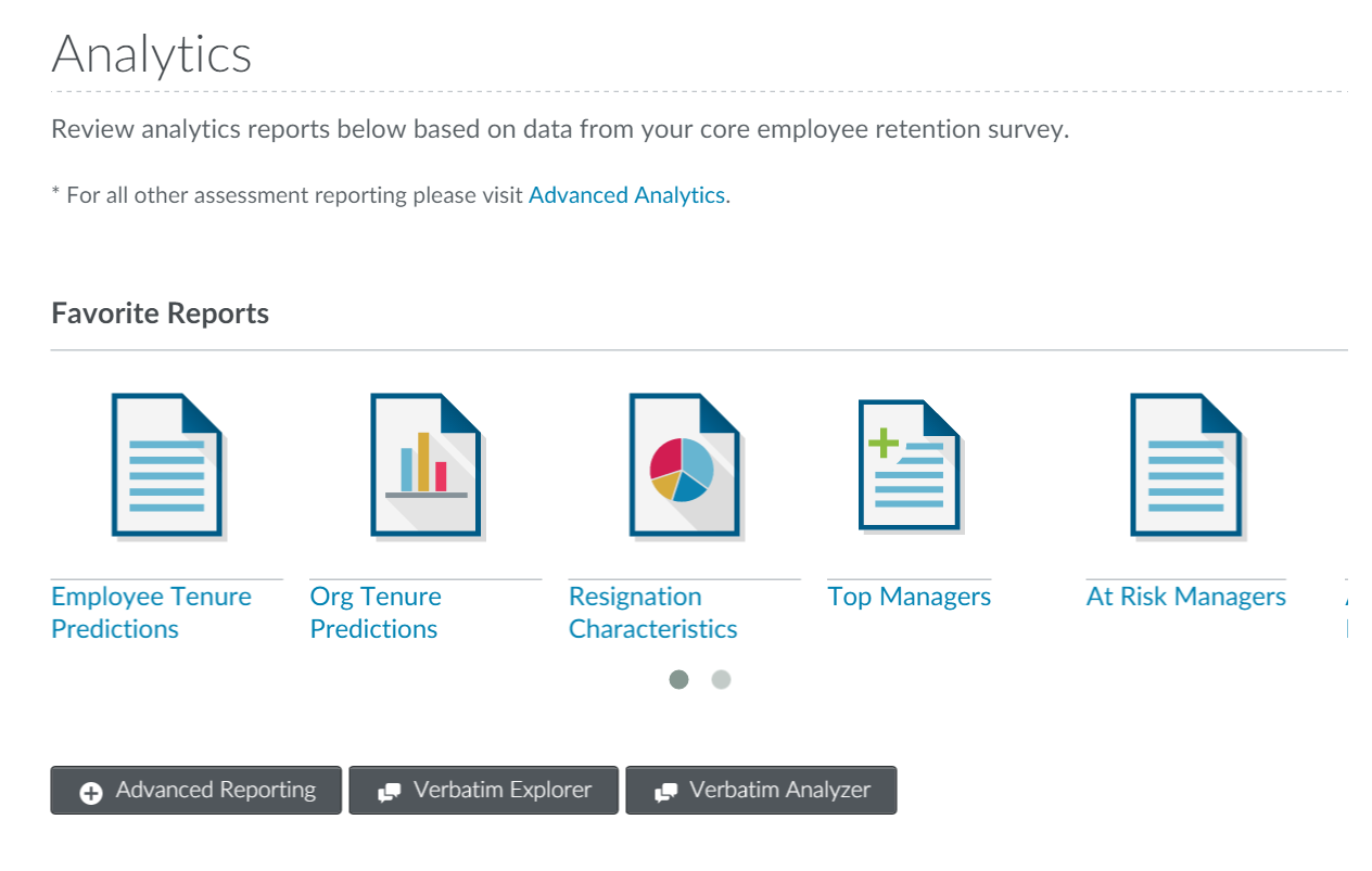 creating customer centric cultures analytics report options